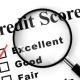Credit score and default listing status